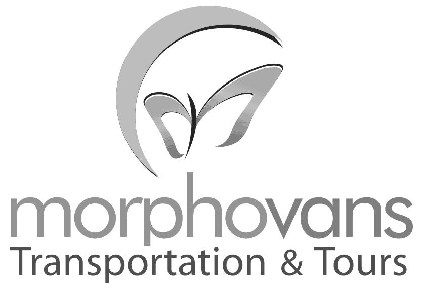Logo Morpho Vans: Servicio de Transporte Privado en Costa Rica