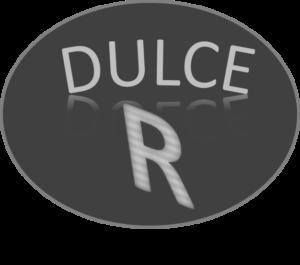 Logotipo de Dulce R tapa de dulce de caña