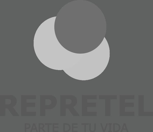 Logo Repretel Canal de Televisión Costarricense