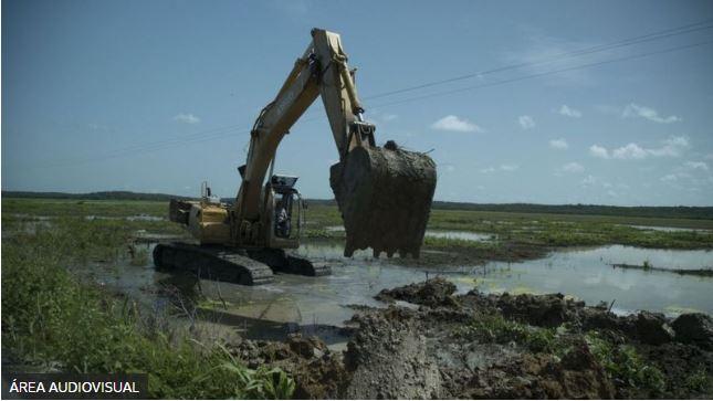Maquinaria en el ambiente