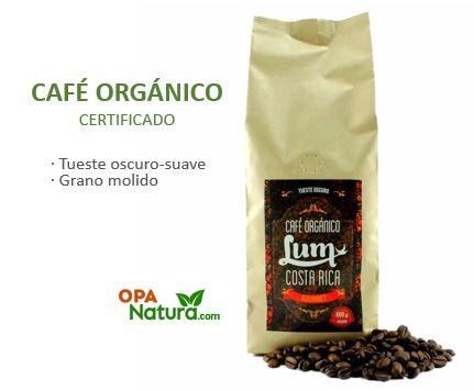 Café Orgánico de Costa Rica. Certificado Orgánico USDA