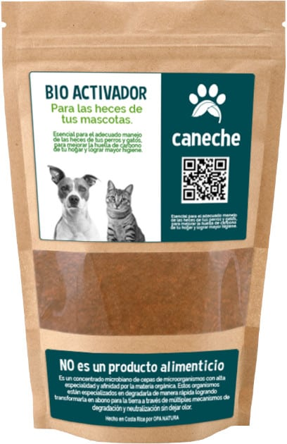 Bioactivador microbiológico para la descomposición de heces de mascotas (perros y gatos)